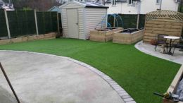 Artificial Lawns, Front Gardens, Back Gardens, Play areas, creches, Carlow, Dublin, Wicklow, Wexford, Kilkenny, Laois, Waterford Supplied and Installed, Country Lane Landscaping.